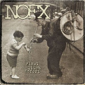 NOFX 'First Ditch Effort' - Exklusiv zur Plattenladenwoche 2016 auf grauem Vinyl