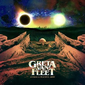 Greta van Fleet 'Anthem Of The Peaceful Army' (LP gelb) - Special Release zur Plattenladenwoche 2018